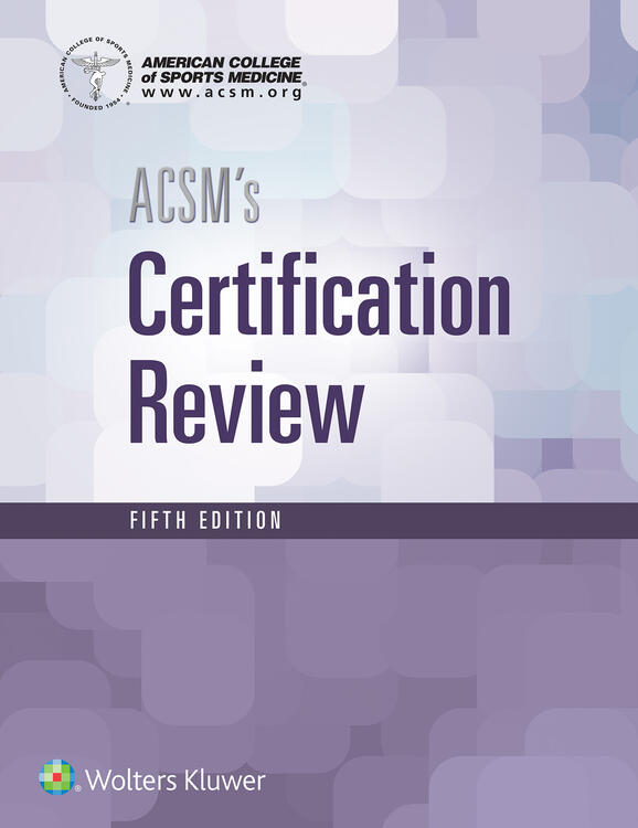 ACSM\'s Certification Review