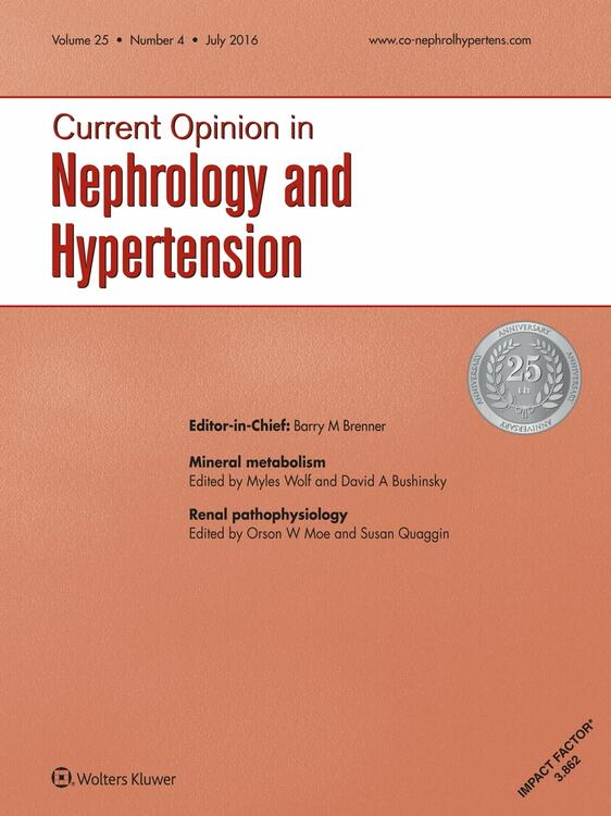 Current Opinion in Nephrology and Hypertension