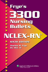 VitalSource e-Book for Frye's 3300 Nursing Bullets for NCLEX-RN