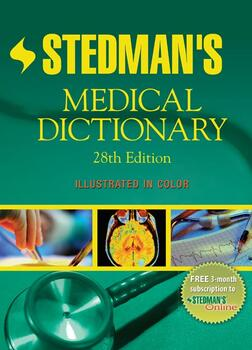 Green medical dictionary cover