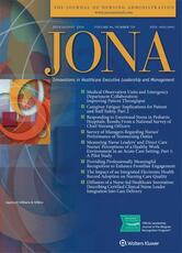 Journal of Nursing Administration (JONA)