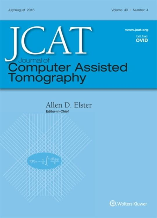 Journal of Computer Assisted Tomography