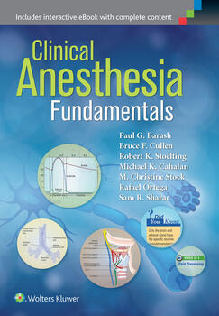 Clinical anesthesia fundamentals print ebook with clinical anesthesia fundamentals print ebook with multimedia fandeluxe Images