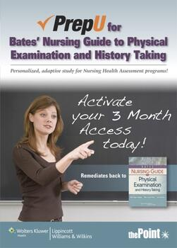 PrepU for Hogan-Quigley's Bates' Nursing Guide to Physical Examination and History Taking
