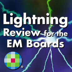 Lightning Review for the Emergency Medicine Boards App