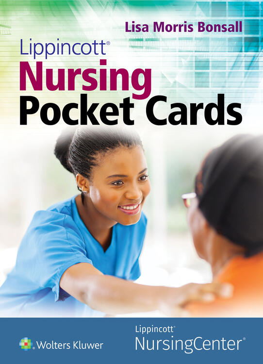 Lippincott Nursing Pocket Cards