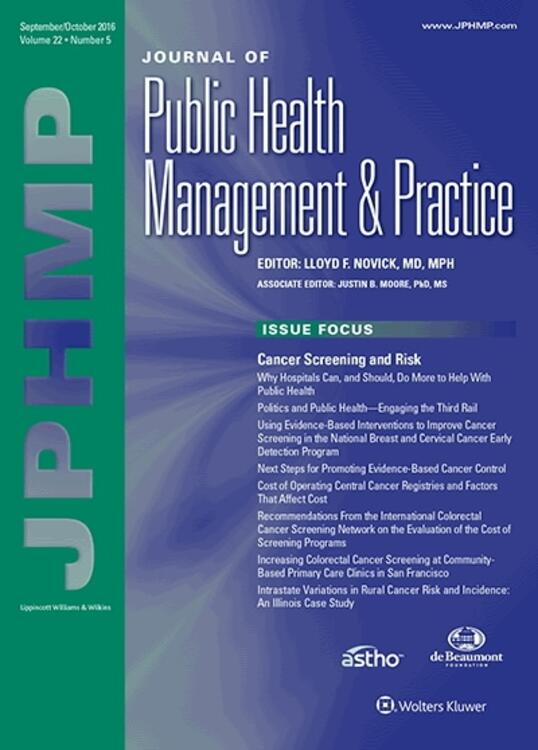 Journal of Public Health Management and Practice Online