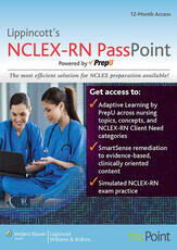 LWW NCLEX-RN PassPoint; plus Marquis Text Package