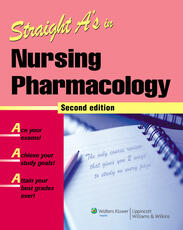 VitalSource e-Book for Straight A's in Nursing Pharmacology