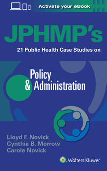 JPHMP's 21 Public Health Case Studies on Policy & Administration
