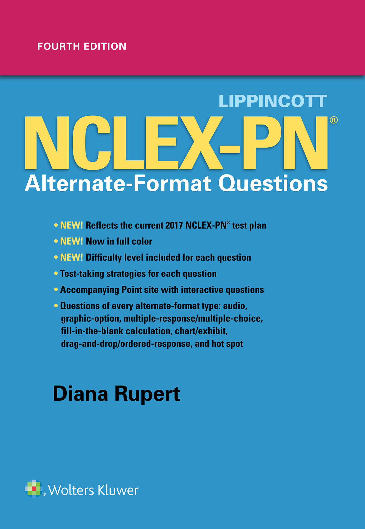 Nursing lww official store wolters kluwer wolters kluwer book lippincott nclex pn alternate format questions xflitez Choice Image