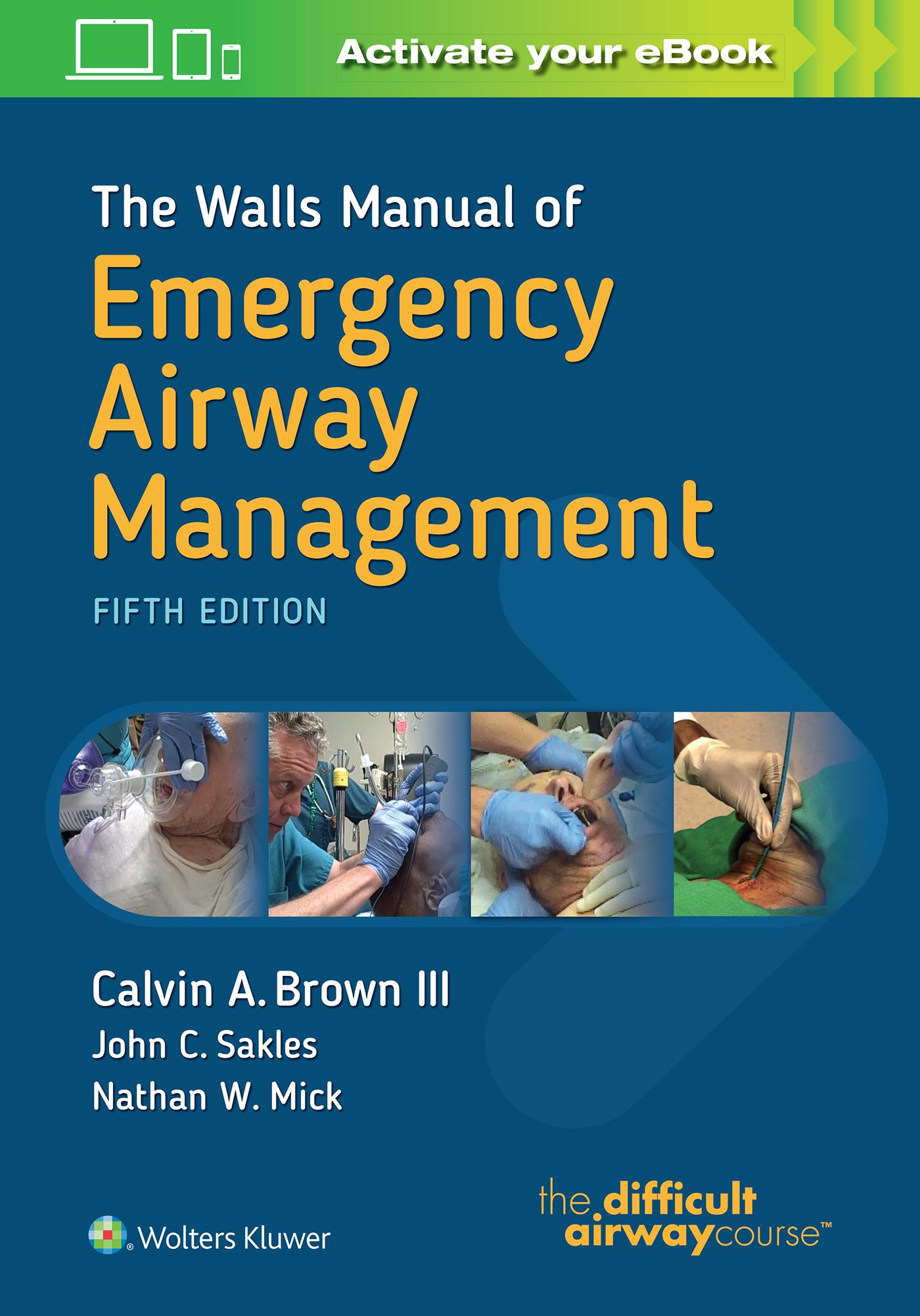 The walls manual of emergency airway management fandeluxe Choice Image