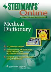 Stedman's Medical Dictionary Online