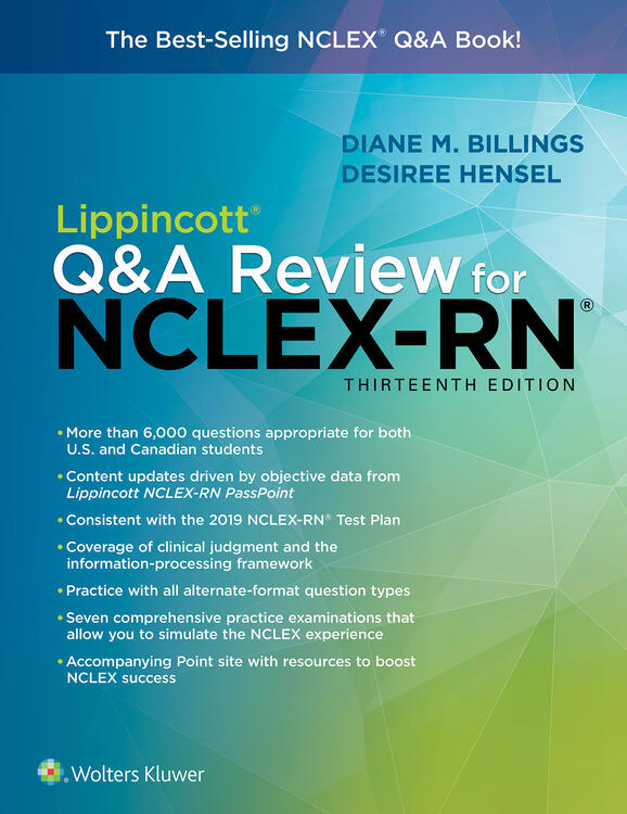 Lippincott Q&A Review for NCLEX-RN