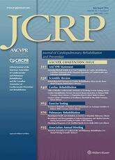 Journal of Cardiopulmonary Rehabilitation and Prevention (JCRP): Research and Advances in Cardiovascular and Pulmonary Prevention and Rehabilitation
