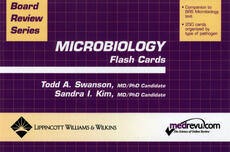 BRS Microbiology Flash Cards