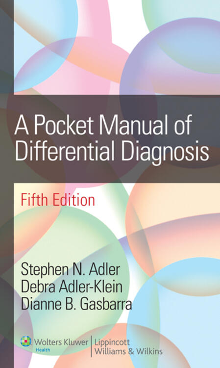 Pocket Manual of Differential Diagnosis