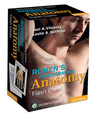 Rohen's Photographic Anatomy Flash Cards