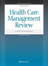 Health Care Management Review Online