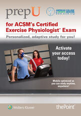 PrepU for ACSM's Certified Exercise Physiologist Exam