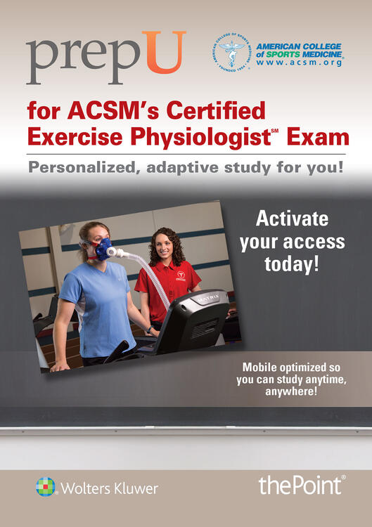 exam 2 for exercise physiology Offers the only board certified exam for exercise physiologists test date and site selection an academic degree with a major in exercise physiology, or 2.