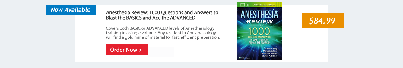 Anesthesiology resources wolters kluwer all anesthesiology fandeluxe Gallery