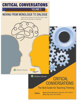 Critical Conversations: The NLN Guide for Teaching Thinking (Volume 1) + Moving from Monologue to Dialogue (Volume 2) Package