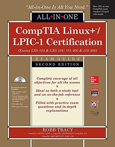 lpic 1 certification all in one exam guide exams lpic 1 book lpi rh lpimarketplace com CompTIA Org comptia linux+ certification study guide pdf