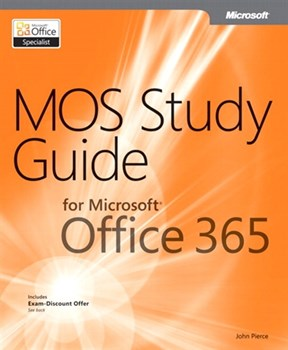 MOS Study Guide for Microsoft Office 365 (eBook)
