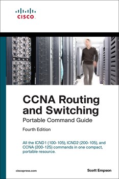 CCNA Routing and Switching Portable Command Guide (ICND1 100-105, ICND2 200-105, and CCNA 200-125), 4th Edition