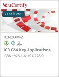 IC3 GS4 Key Applications (Exam 2) Courseware