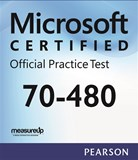 70-480: Programming in HTML5 with JavaScript and CSS3 Microsoft Official Practice Test