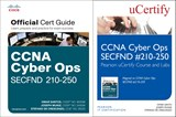 CCNA Cyber Ops SECFND #210-250 Pearson uCertify Course and Labs and Textbook Bundle