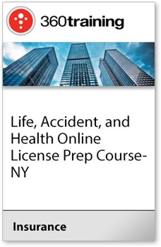 Life, Accident, and Health Online License Prep Course - NY