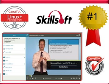 CompTIA Linux+ LX0-103 & 104-: Complete eLearning Courseware, Practice Exam, and Live Mentoring