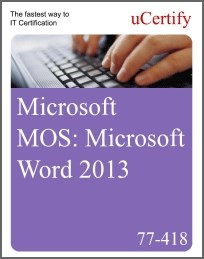 MOS: Microsoft Word 2013 eLearning Course