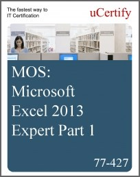 MOS: Microsoft Excel 2013 Expert Part 1 eLearning Course, Part 1
