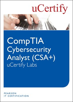 CompTIA Cybersecurity Analyst (CSA+) uCertify Labs Access Code Card