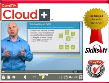CompTIA Cloud+ CV0-001: Complete eLearning Courseware, Practice Exam, and Live Mentoring