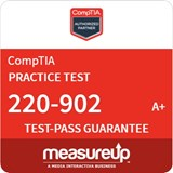 A+ Practical Application (220-902) - 30 Day Practice Test