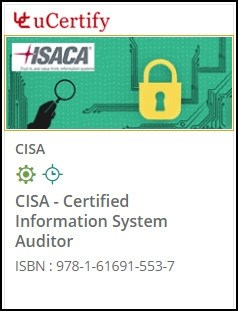 CISA: Certified Information System Auditor Courseware