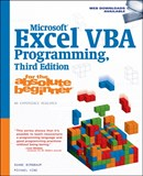 Microsoft Excel VBA Programming for the Absolute Beginner 3E