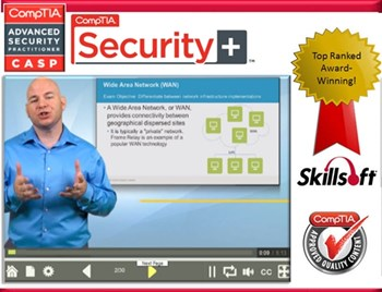 Security Path Pack - CompTIA Security+ (SY0-401) and CASP (CAS-002): Complete eLearning Courseware, Practice Exam, and Live Mentoring