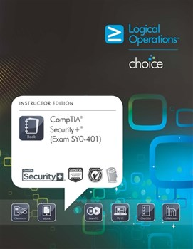LogicalCHOICE CompTIA Security+ (Exam SY0-401) Electronic Student Training Bundle - CompTIA Authorized