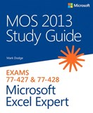 MOS 2013 Study Guide for Microsoft Excel Expert (eBook)
