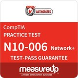 CompTIA Network+ (N10-006) 30-Day Online Practice Test