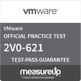 VMware Certified Professional 6 - Data Center Virtualization (2V0-621) Online Practice Exam