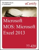 MOS: Microsoft Excel 2013 eLearning Course