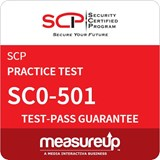 SC0-501 - Network Architect: Enterprise Security Implementation (ESI) Practice Test