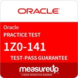 1Z0-141 - Oracle Forms: Build Internet Applications Practice Test